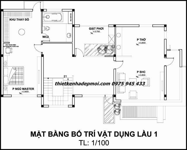 tang-2-mau-thiet-ke-biet-thu-dep-2-tang-5432