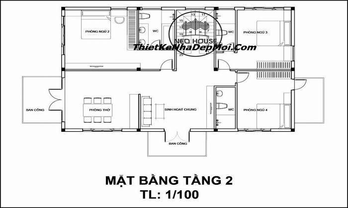 biet-thu-2-tang-kien-truc-phap-2444
