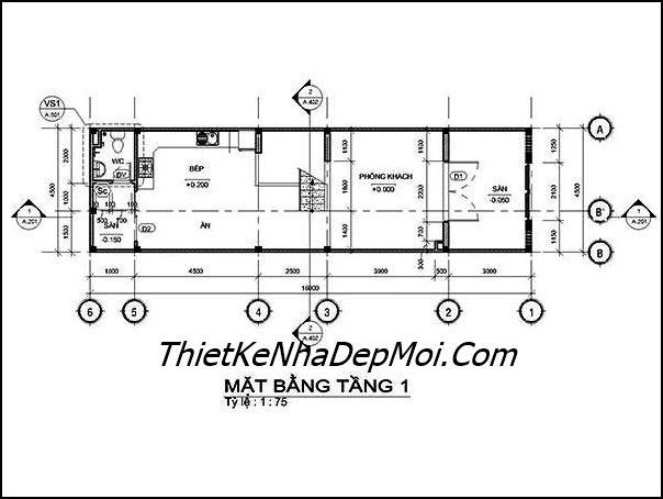 nha dep 1 tret 3 lau san thuong rong 4.5m 1651