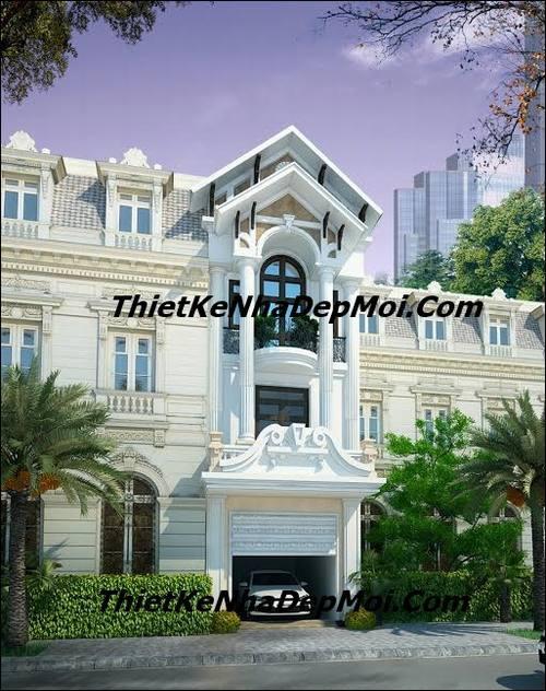 mau nha ong 3 tang kieu phap 6541