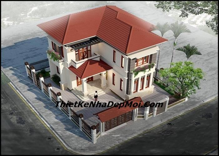 biet thu mini 2 tang mai thai 100m2 0043