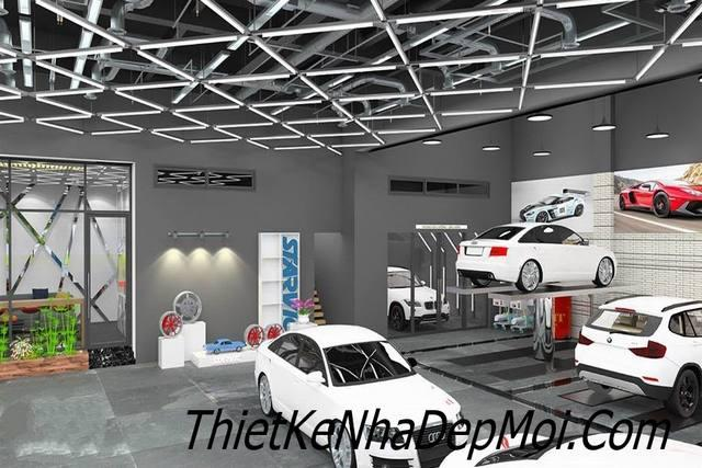 thiet ke showroom gia re 9945