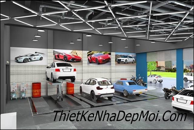 thiet ke showroom gia re 9946