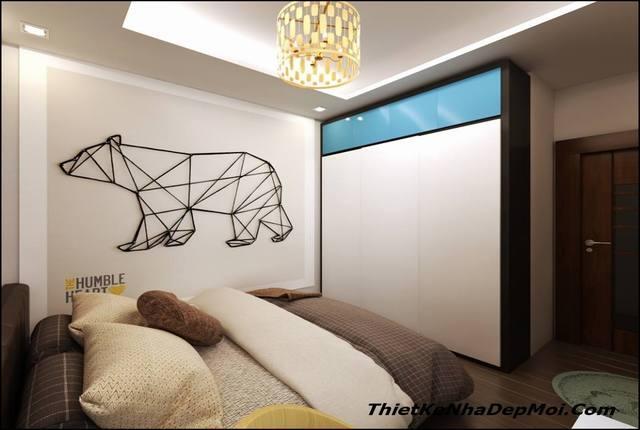 phòng ngủ chung cư diện tích 10m2
