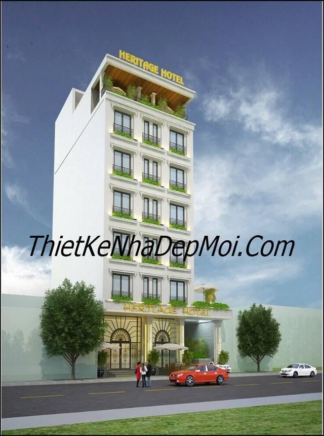 Khách sạn mini hiện đại