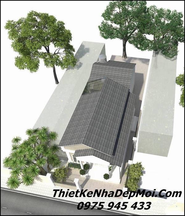 nhà cấp 4 mái thái 400 triệu mái tôn giả ngói