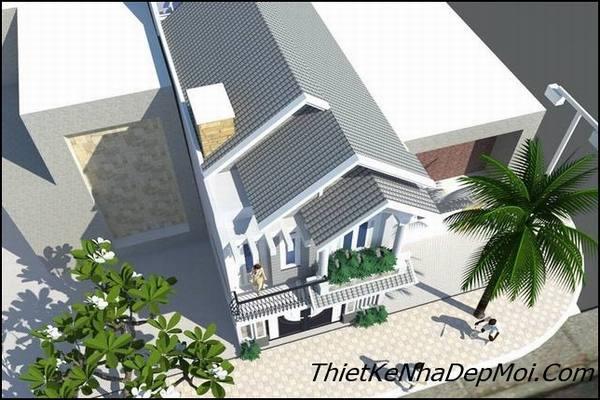 Cách tính mét vuông xây nhà 1 trệt 1 lầu