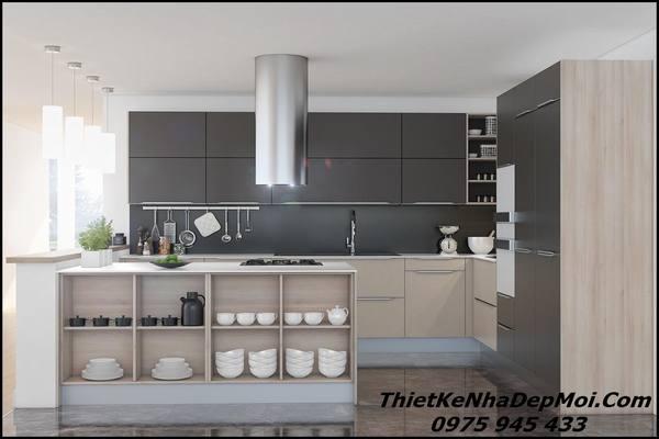 phòng bếp nhỏ đẹp
