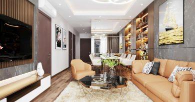 Thiết kế hiện đại của căn hộ mẫu dự án Le Grand Jardin